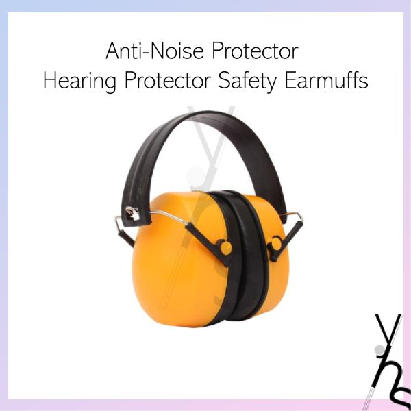 Anti-Noise Protector Hearing Protector Safety Earmuffs Ear Muff Headphone ABS Silicone Perlindungan Pendengaran