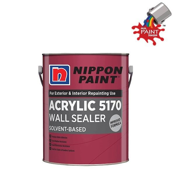 1L NIPPON ACRYLIC 5170 WALL SEALER (SOLVENT BASE)