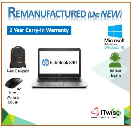 REMANUFACTURED HP ELITEBOOK 840 G1 4310U CI5 2.0 (NOT REFURBISHED - ITWISE) Malaysia
