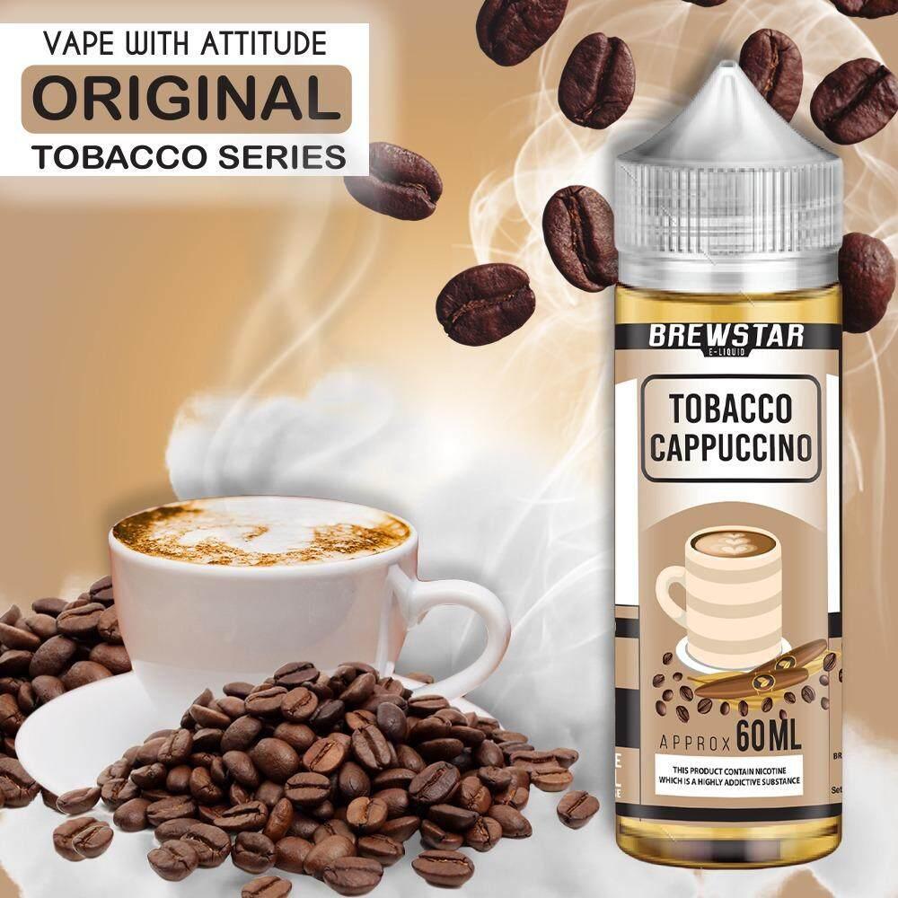 60ML TOBBACO CAPPUCINO E-JUICE BEST COFFEE E-LIQUID FREEBASE Malaysia