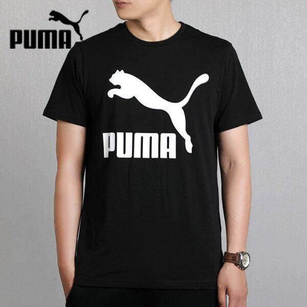 Luckyleaf Thể Thao Áo Thun Thể Thao Nam Mới Puma Áo Thun Ngắn Tay Cổ Tròn Chạy Thường Ngày 596535-01