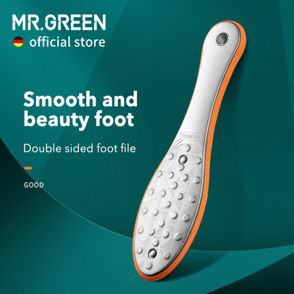 Buy MR.GREEN Pedicure Foot Care Tools Foot File Rasps Callus Dead Skin Remover Professional Stainless Steel Double Sides Files Singapore