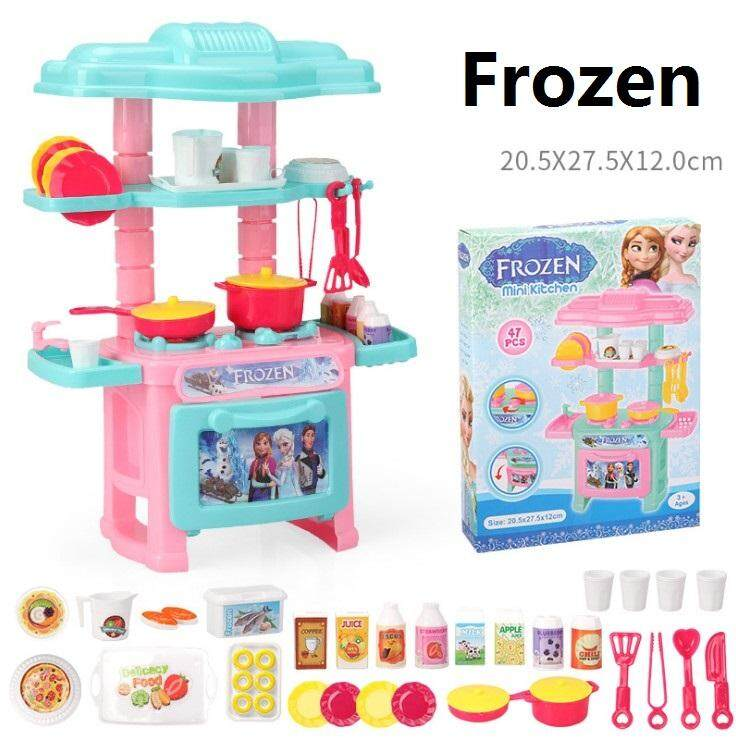 Kitty Princess Frozen Pony Mini Kitchen Cooking Pretend Role Play Toys 2 By Lsl Gifts.