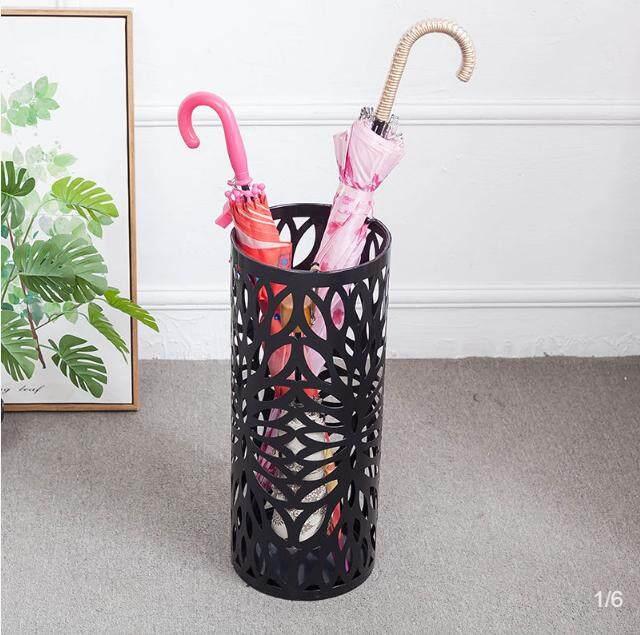 Nordic Umbrella Stand Simple Umbrella Storage Bucket Creative Put Umbrella Stand Household Floor-standing Wrought Iron San Tong