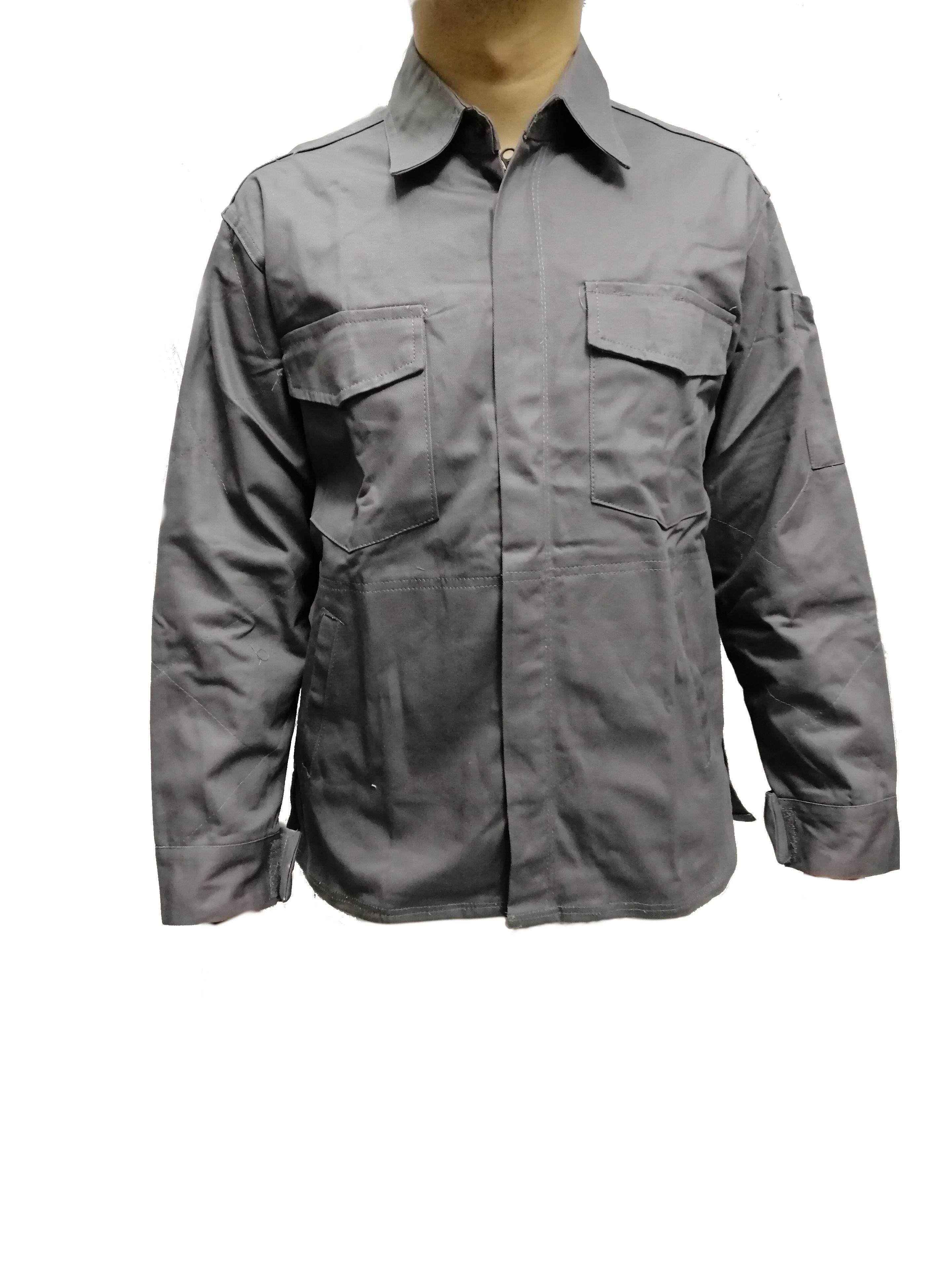 Work zip jacket/ plantation jacket/ Welding Coat Heat/Flame Resistant Heavy Duty Anti-scald Welder Clothing