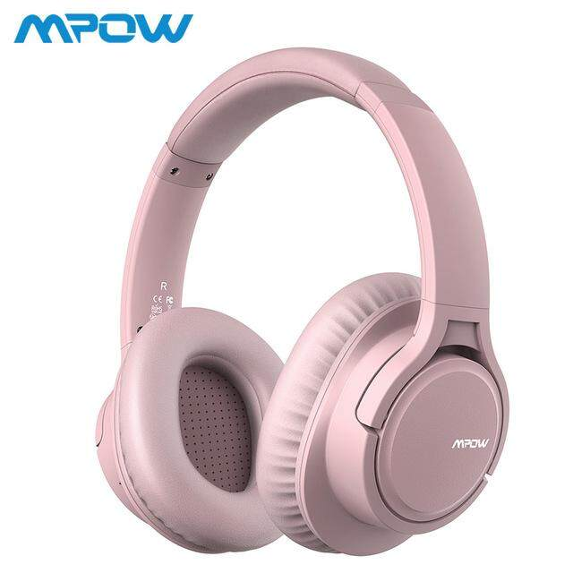 Rechargeable HiFi Stereo Headset Mpow H7 Bluetooth Headphones Over Ear 18 Hrs Comfortable Wireless Headphones w//Bag