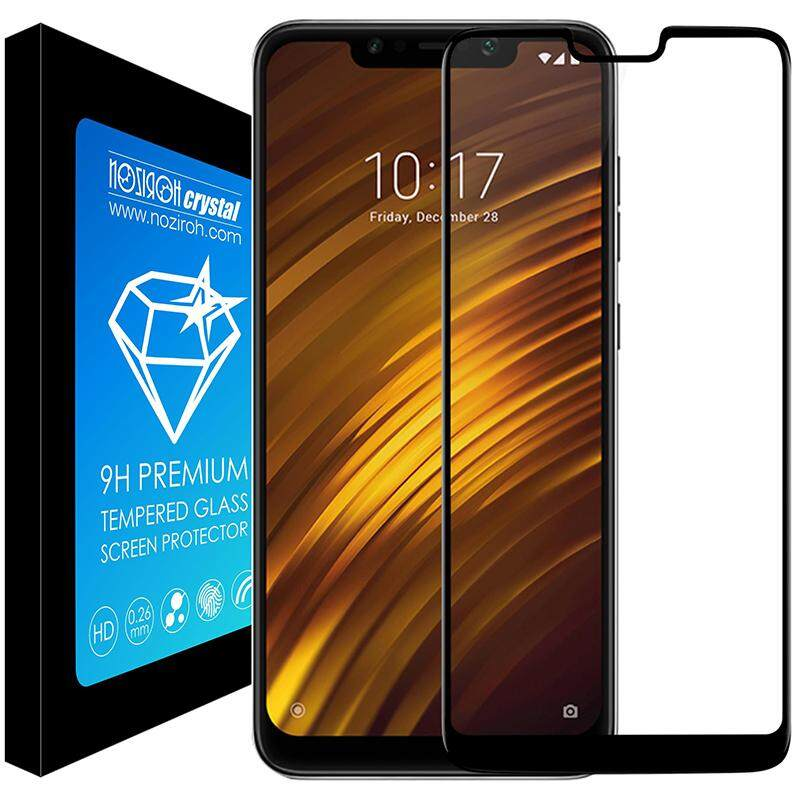 ... NOZIROH Premium Mobile Phone Accessories Wholesale Tempered Glass Full Cover Screen Film For Xiaomi Pocophone F1