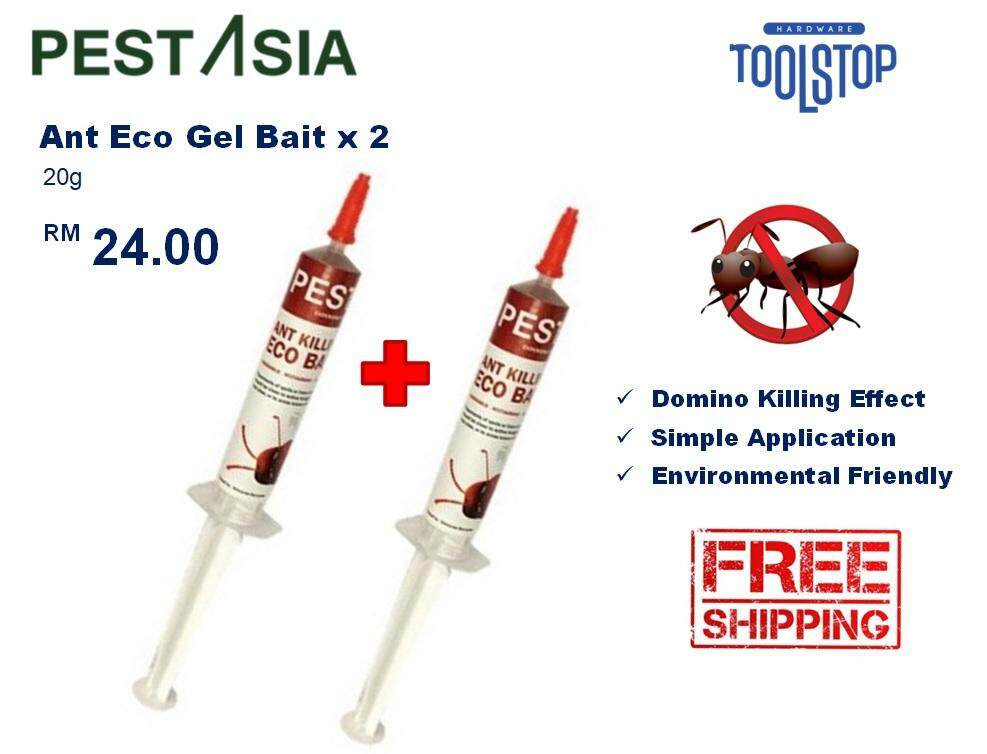 PEST ASIA Ant Eco Gel Bait 10g x 2 (Twin Pack)