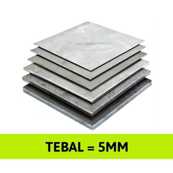 5mm Mild Steel Sheet Plate [ Papan Besi ] / Shearing Cut