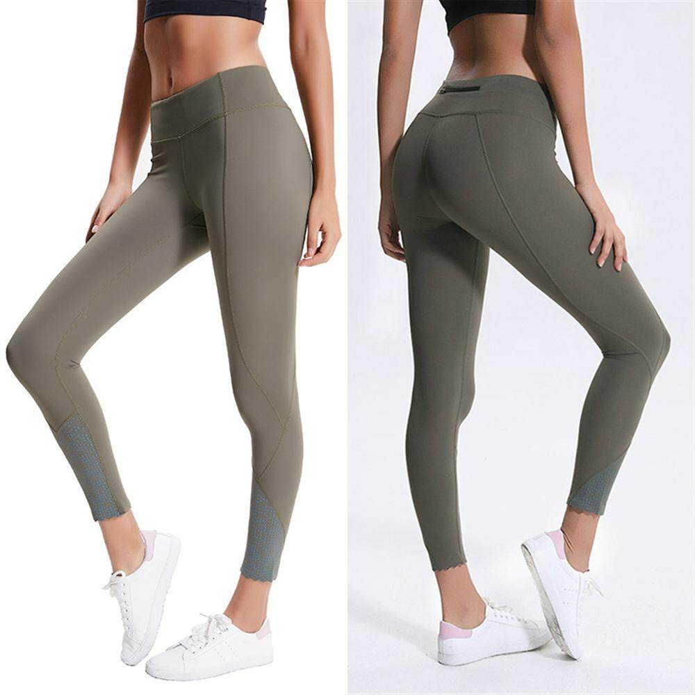 077652214a860 High Stretchy Printed Fitness Sport Leggings Women Naked-Feel Workout Gym  Tights Squatproof Nylon Yoga