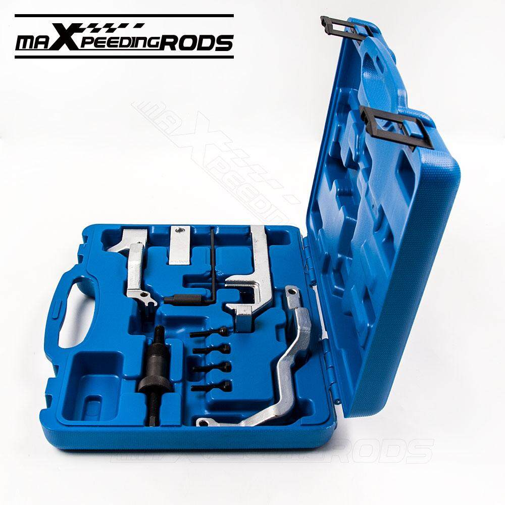 maXpeedingrods Car Engine Chain Driven Camshaft Valvetronic Timing Car  Repair Tool Set Camshaft Locking Setting for BMW Mini Cooper R55 56 N12 14