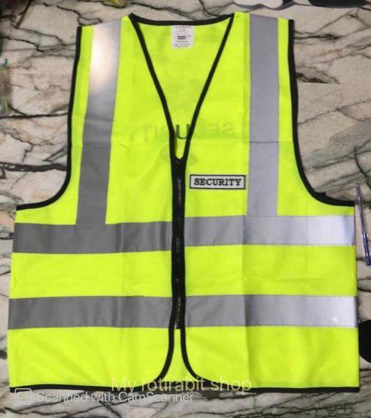 SAFETY REFLECTIVE VEST (with SECURITY WORD)