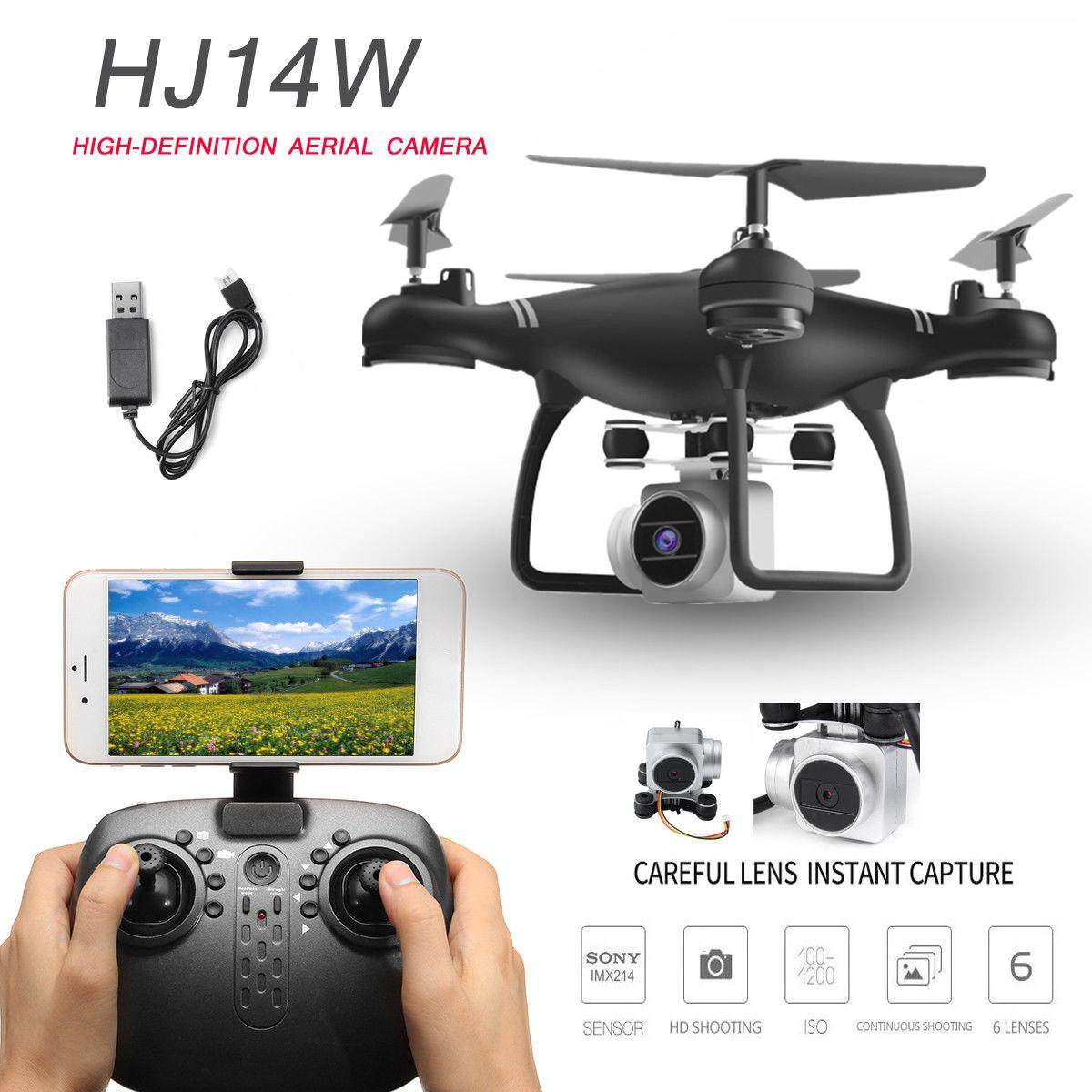 Selfie Drone FPV RC Quad copter Drone with 720P Gimbal Camera RC Helicopter Drone With HD WIFI Camera Clone DJI Phantom 4