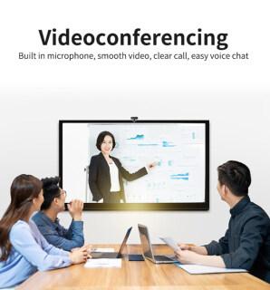 Webcam Lấy Nét Tự Động FHD Cho PC 1080P Tích Hợp Micro Giảm Tiếng Ồn Cuộc Gọi Video Cao Cấp Camera USB Web Cam Cho Máy Tính Xách Tay Máy Tính Để Bàn 3