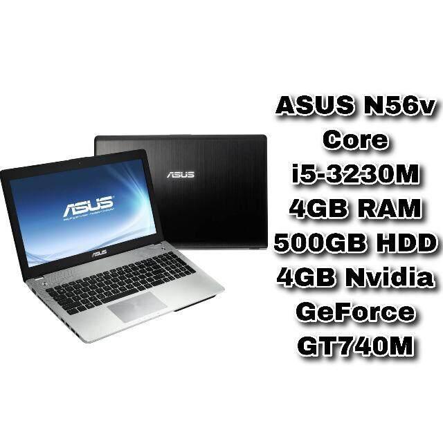 ASUS N56v Core i5-3230M 4GB RAM 500GB HDD 4GB NVIDIA GeForce GT740M 15.6 inch Malaysia