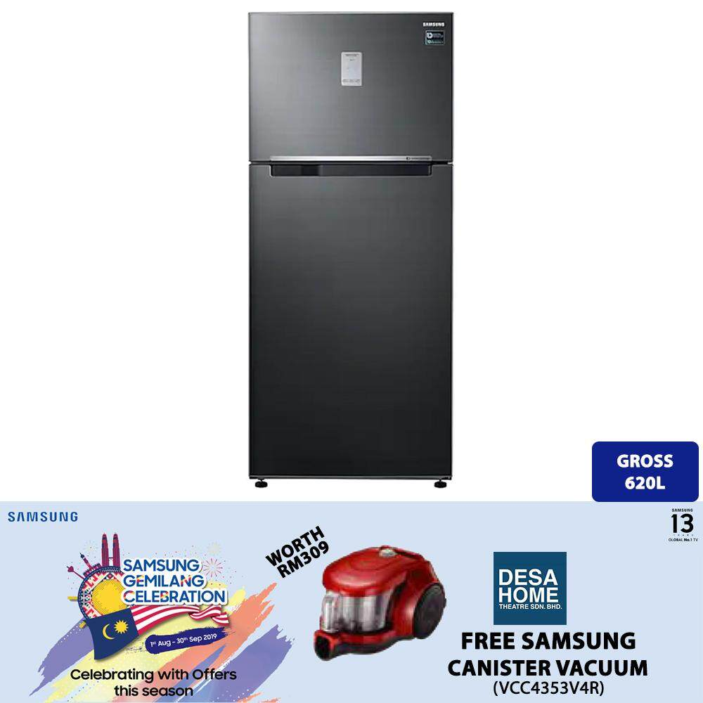 SAMSUNG Top Mount Freezer with Twin Cooling Plus™ (RT53K6271BS)