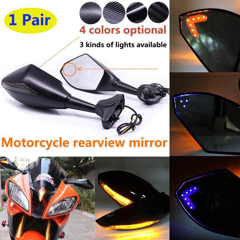 Rear View Mirror Led Turn Signal Light Amber For Honda CBR 600 F3 1995-1998 97