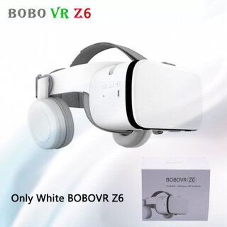 BOBO VR Z6 Wireless Bluetooth 3D Glasses Virtual Reality for Smartphone Immersive Stereo VR Headset Cardboard For iPhone Android thumbnail