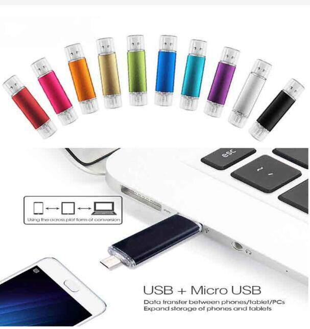 Giá 2T 2048GB Metal OTG Pen Drive Flash Drive for Android Smartphone Laptop 2048G Pendrive