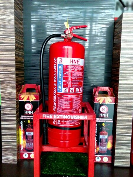 HNH Fire Extinguisher Stand (Red)