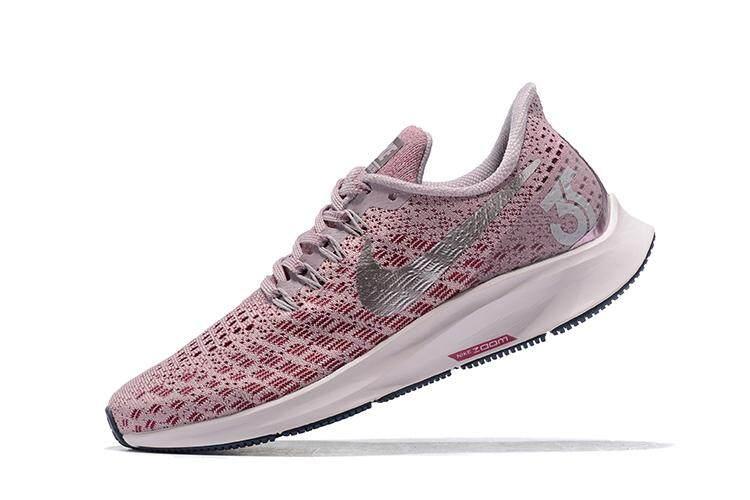 ยี่ห้อนี้ดีไหม  เชียงราย Nike_Air Zoom Pegasus 35 Pink Women s Running Shoes Sneakers9978