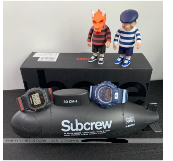 READY STOCK 100% ORIGINAL SUBCREW x G-Shock for DW-5600 and DW-6900 box sets Malaysia