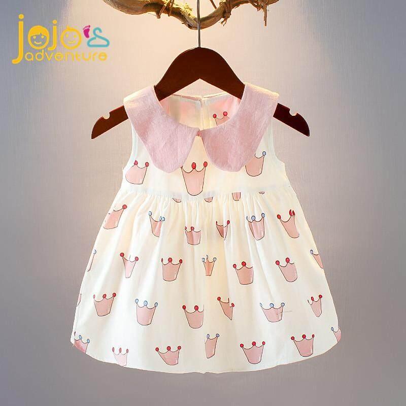 Giá bán Đầm bé gái công chúa siêu xinh siêu thoải mái chất liệu cotton thoáng mát mùa hè- JOJOS ADVENTURE