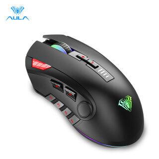 AULA H512 Gaming Mouse 6 Programabl Side Buttons Ánh Sáng Đầy Màu Sắc 6DPI Điều Chỉnh Trọng Lượng Hệ Thống Cho PC Máy Tính Xách Tay Máy Tính thumbnail