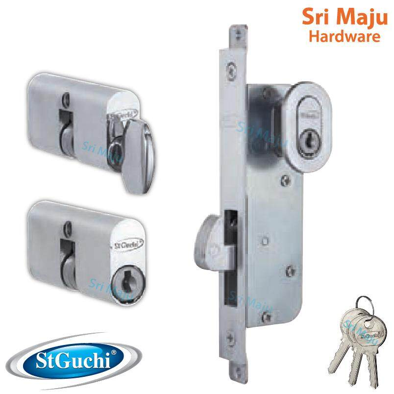 MAJU St Guchi ST41055 Single / Double Mortise Hook Lock 41055 Slide Door Lock