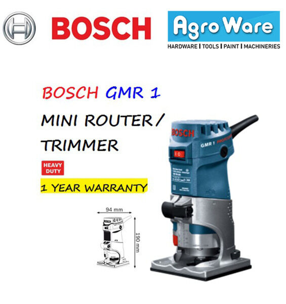 BOSCH Mini Router / Trimmer GMR 1