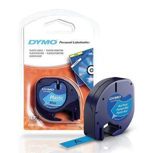 (Original) DYMO LetraTag Plastic Labels Maker Tape/Refill 12mm x 4m Label  Refill Pack