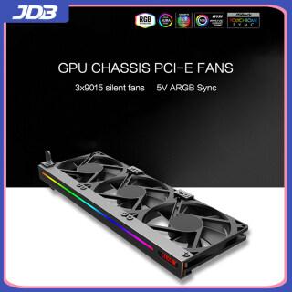 JDB Bộ Làm Mát GPU Quạt Làm Mát ARGB 5V 3Pin Cho Máy Tính Để Bàn Vỏ Máy Tính Bộ Tản Nhiệt Tản Nhiệt Bộ Tản Nhiệt Phụ Trợ PCI Card Đồ Họa Bộ Làm Mát GPU thumbnail