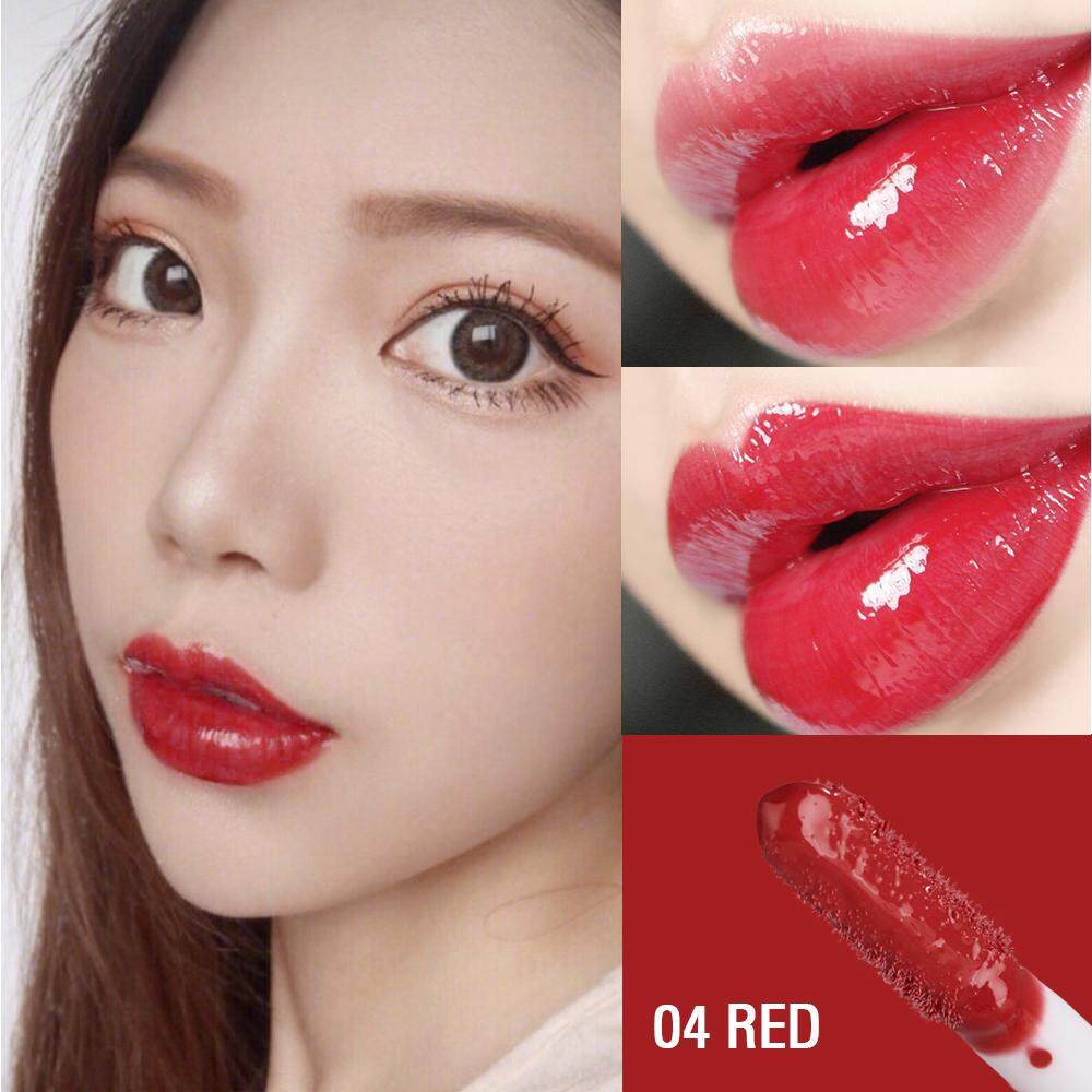 Sace Wanita Bersinar Lip Lacquer Makeup Halus Intens Lipglos Berkilau Beautylipstick Membuat Kosmetik Yang Melembapkan