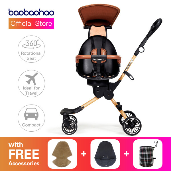 BaoBaoHao Lightweight Magic Stroller Baby Kids Travel V5B Premium Edition Singapore
