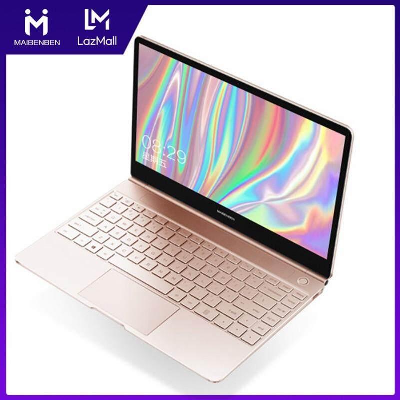 MAIBENBEN Laptops JINMAI 6 13.3 inch ADS Screen / Intel N4100 / Intel UHD Graphics 600 / 8G RAM / 480 SSD / Silver Pink Free Shipping Malaysia