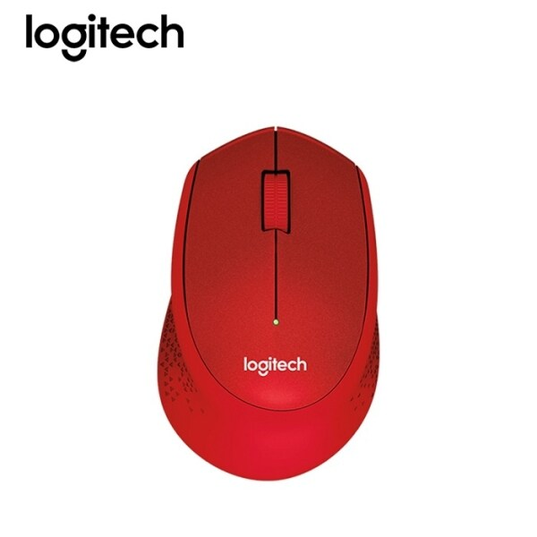 Logitech M331 Silent Plus Wireless Mouse - Red 910-004916 Malaysia