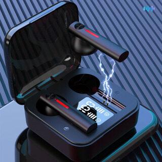 T13 tai nghe không dây mới tai nghe bluetooth tai nghe thể thao không dây giảm tiếng ồn âm trầm Đèn báo sạc LED thương hiệu TWS micrô cảm ứng 3d thumbnail