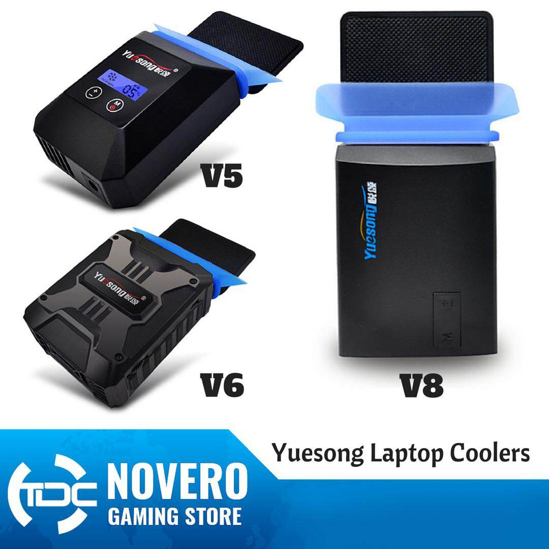 Official Yuesong V5 V6 V8 USB Portable Laptop Cooler Cooling Fan Malaysia