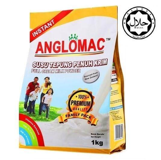 Anglomac Fullcream Milk 1kg By Anglomac.