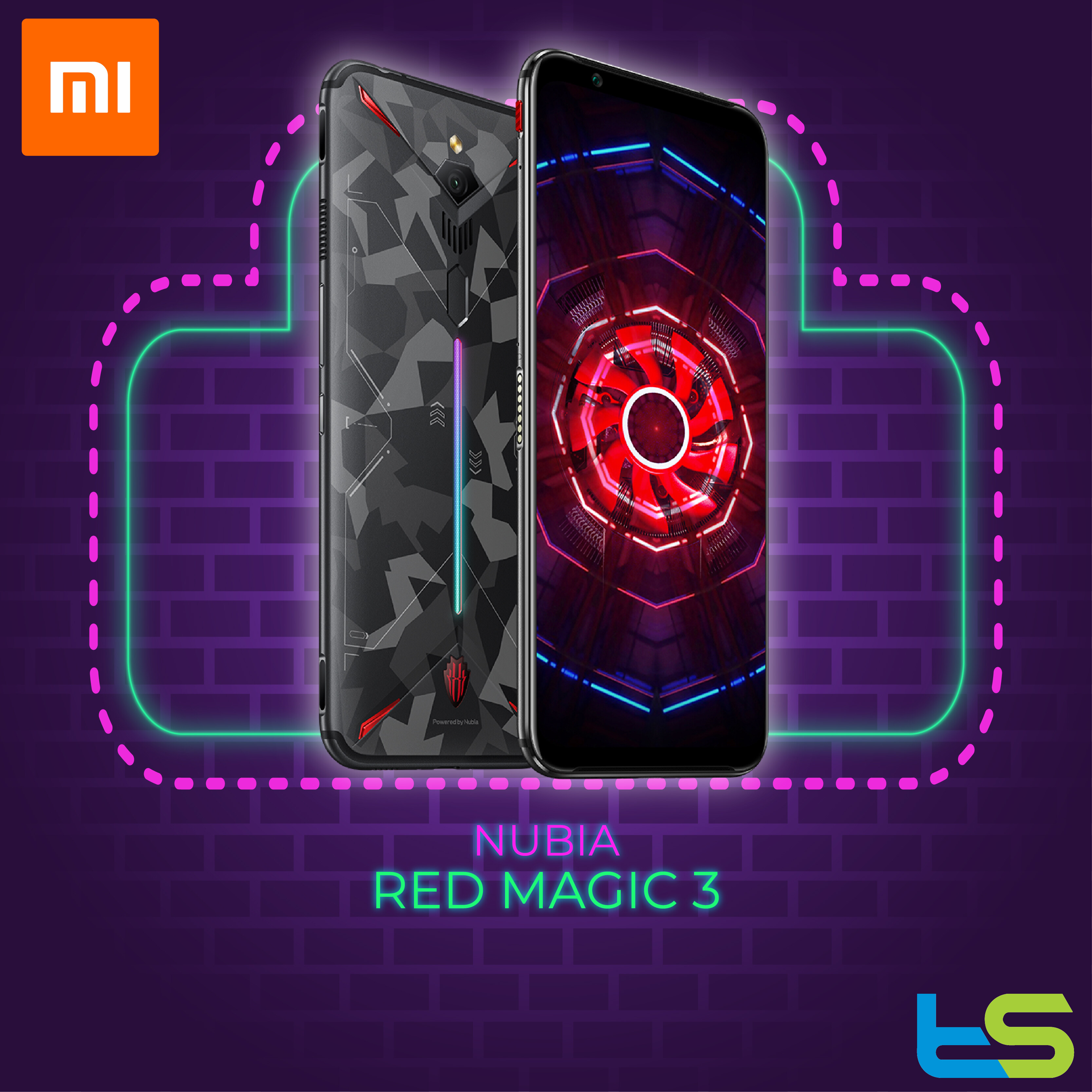 Nubia Red Magic 3 12+256GB [1 Year Local Malaysia Warranty]