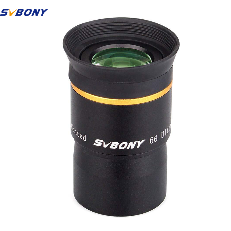 6//9//15//20mm Svbony Telescope Eyepiece 1.25 Telescope Accessories 66 Degree Ultra Wide Angle Eyepiece Threaded for Standard 1.25inch Astronomy Filters