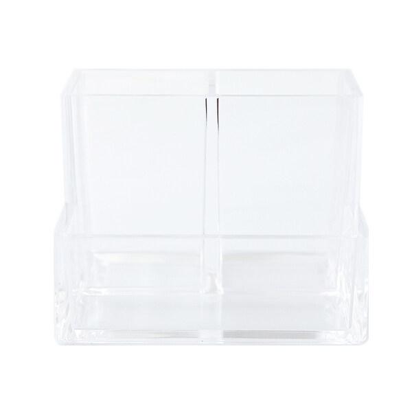Mua 1 Hộp Đựng Bút INS Acrylic Hộp Đựng Máy Tính Để Bàn 3 Ngăn Đồ Dùng Văn Phòng Phẩm Cho Học Sinh