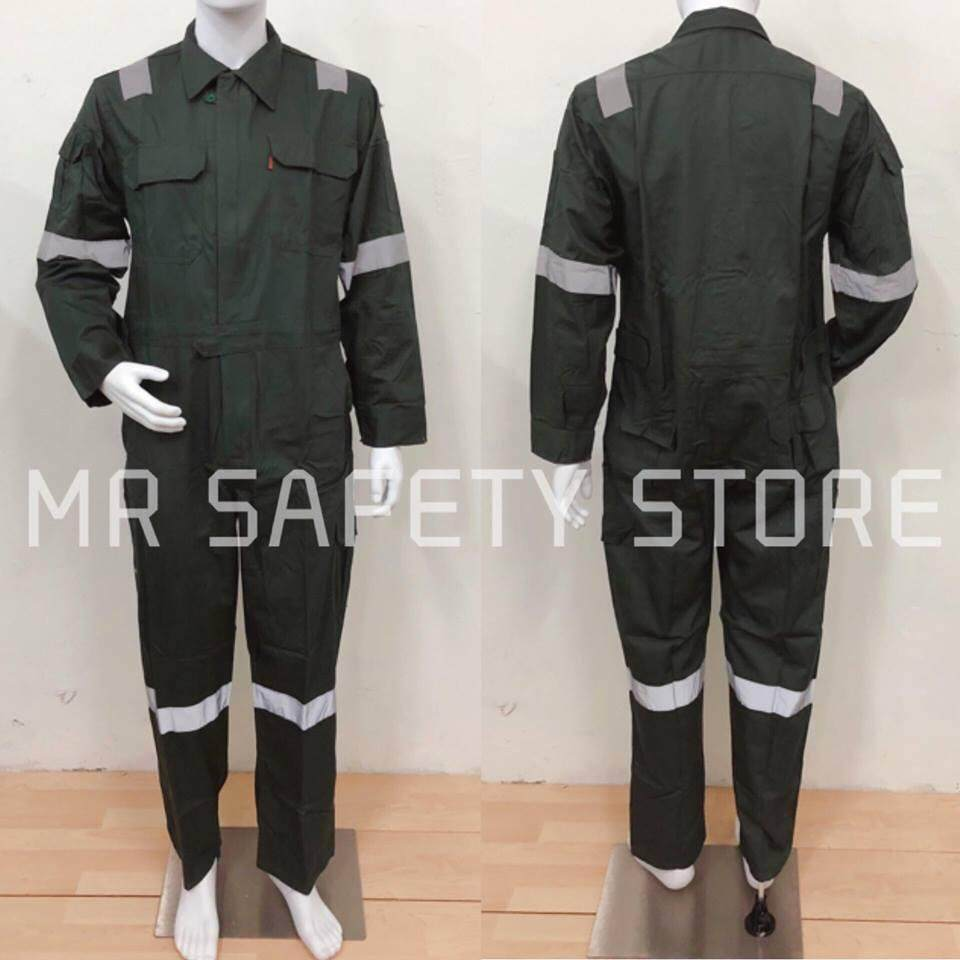 Tanker Exclusive with Reflector Coverall - M Size