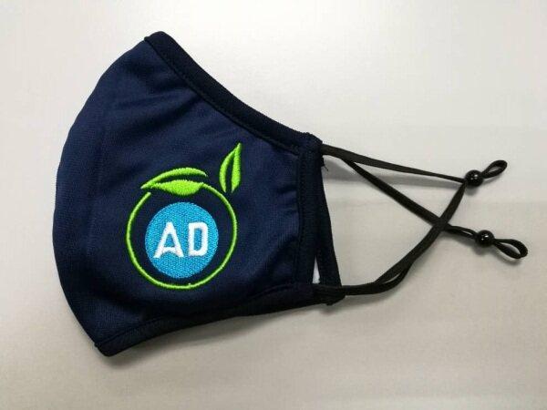 AD - Eco Mask : Reusable Mask [3 Ply] - Colour [Dark Blue]