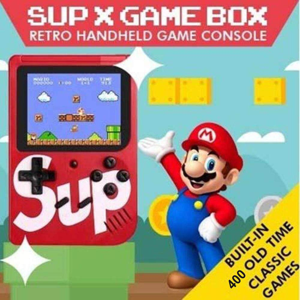 Magic Cube For Game Boy Sup X Game Box 400 Classic Game In One Handheld Game Console By Magic Cube Express.