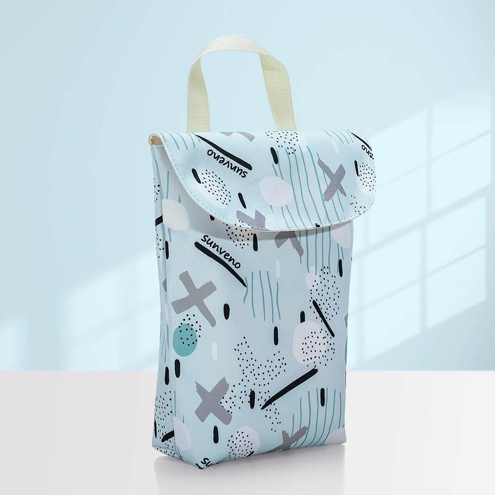 e7c1c9ecdef4 Sunveno Multifunctional Baby Diaper Organizer Reusable Waterproof Fashion  Prints Wet/Dry Bag Mummy Storage Bag Travel Nappy Bag
