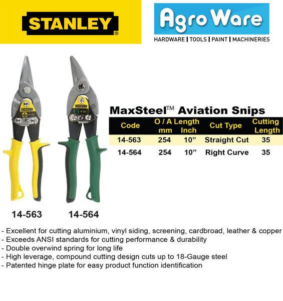 STANLEY MaxSteel Aviation Snips