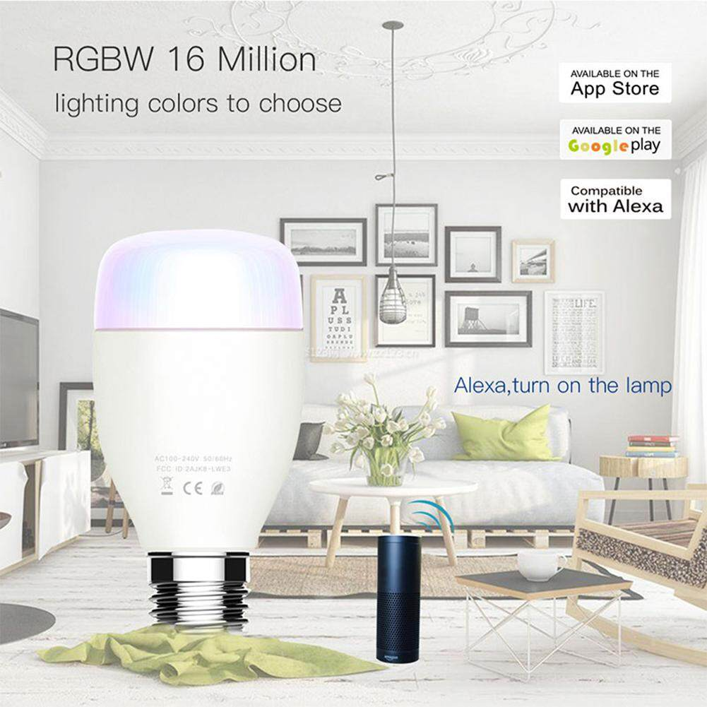 WiFi Smart Bulb 7W E27 Dimmable Light Bulb for Home Timing LEDs Bulb Lamp Compatible with Alexa and Google home