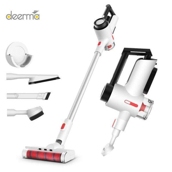 Deerma Cordless Vacumm Cleaner, 2 In 1 Upright Handheld Vacuum Cleaner, 15000PA Strong Suction Power for Home and Car Singapore