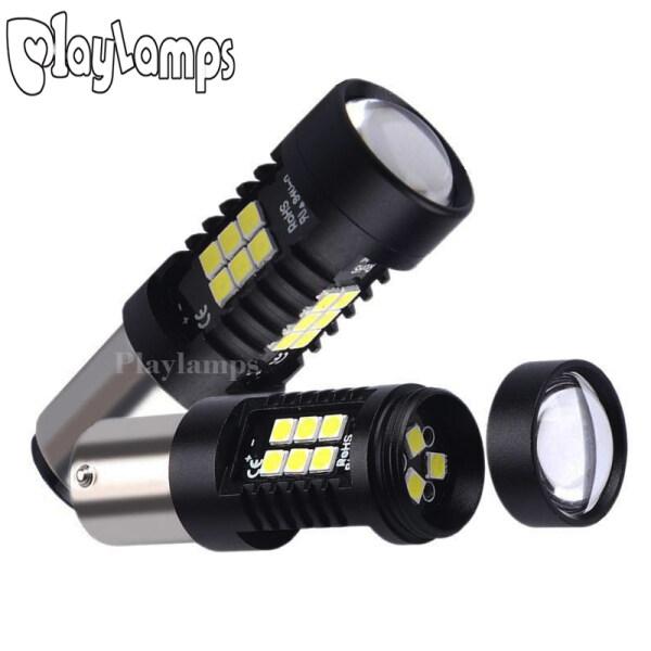 1 Pcs P21/5 W LED 1157 BAY15D Bóng Đèn LED Đèn Xe Ô Tô 1200Lm Tín Hiệu Báo Rẽ Đèn Phanh Lùi R5W 3030 Đèn LED 12V 24V Đèn (Màu Trắng)